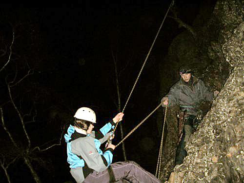 Malé noční lezení