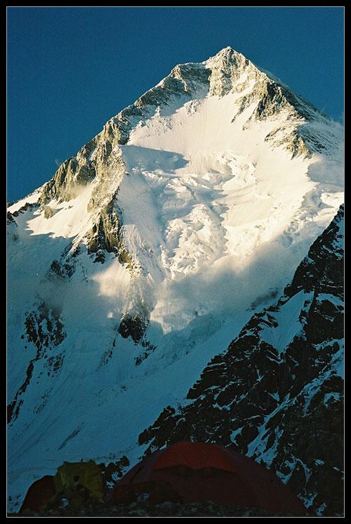 Gasherbrum I ze základního tábora