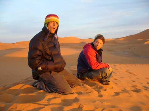 Dobrodružství horolezců v Maroku