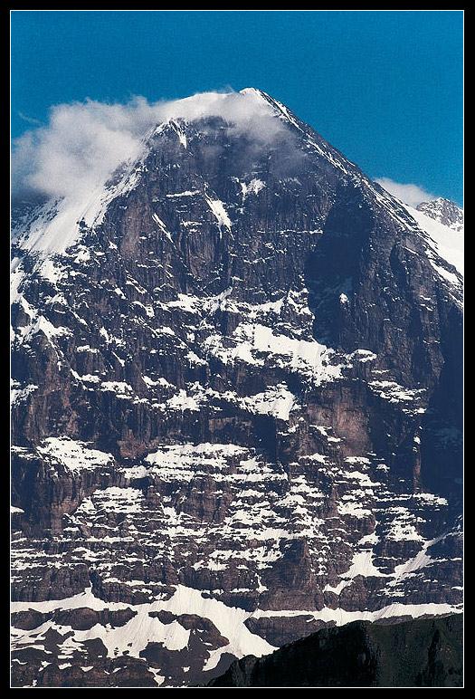 Eiger - obávaná severní stěna