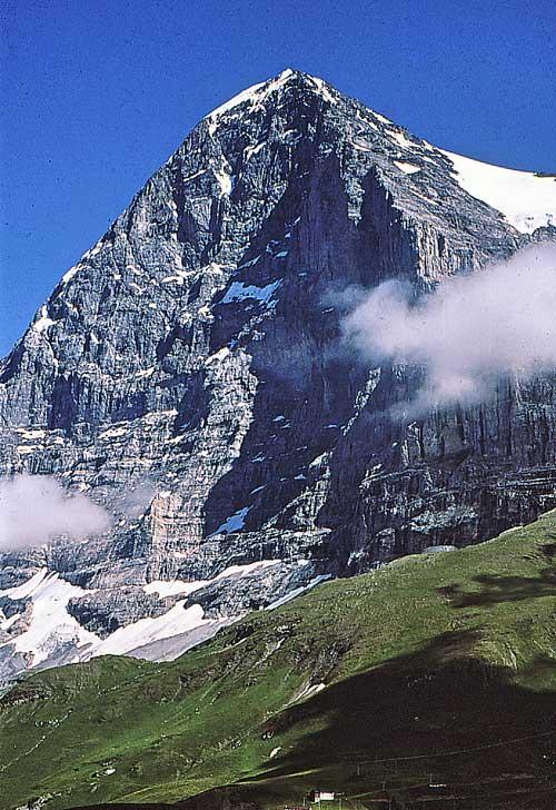 Eiger, Eiger severní stěna