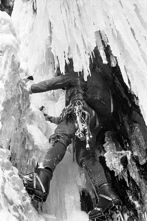 Mařenka, ledopád,1982