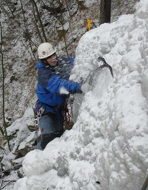 Umělá ledová stěna Vír, Honza