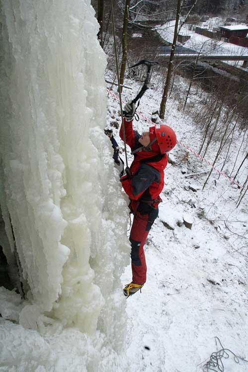 Umělá ledová stěna Vír, Veronika