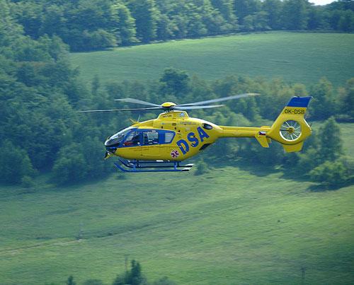 Vrtulník Záchranné služby 6