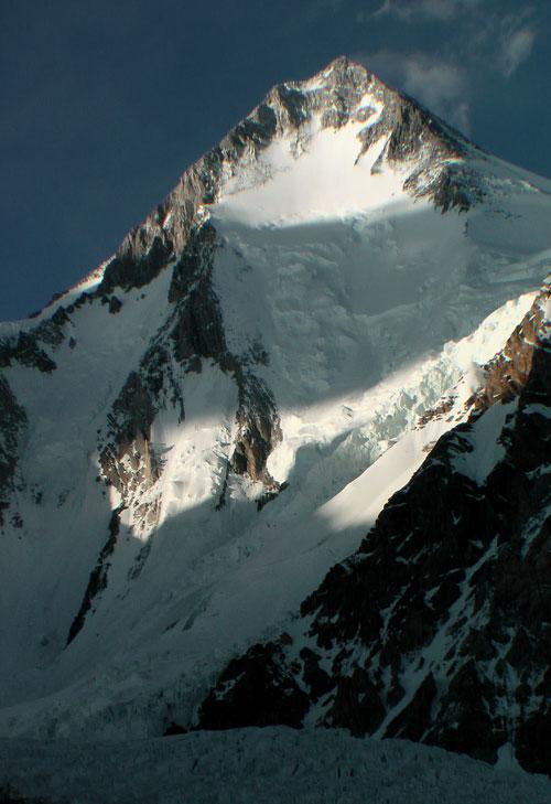 Tak to je ona… 2100 m vysoká jihozápadní stěna
