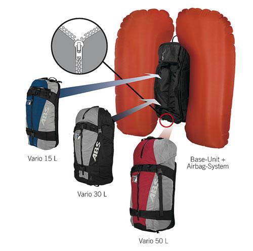 Systém Vario s výměnnými batohy na base unitu ac7651caee