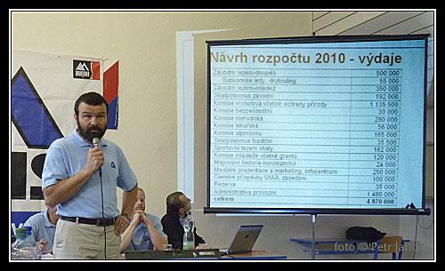 VH2010 - Návrh rozpočtu, Honza Bloudek