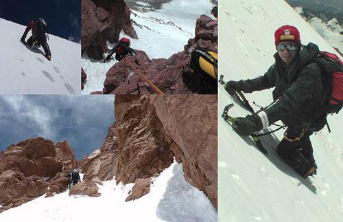 Polský direkt ledovcem, horolezecká mateřská školka…
