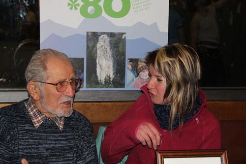 Olda Kopal s Luckou Novákovou si mají určitě co říci, šefredaktorka Everestu s ním nedávno dělala rozhovor a Údolního Kápla (na fotce za nimi) si vyvedla