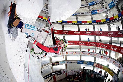 Na Světovém poháru v Saas Fee