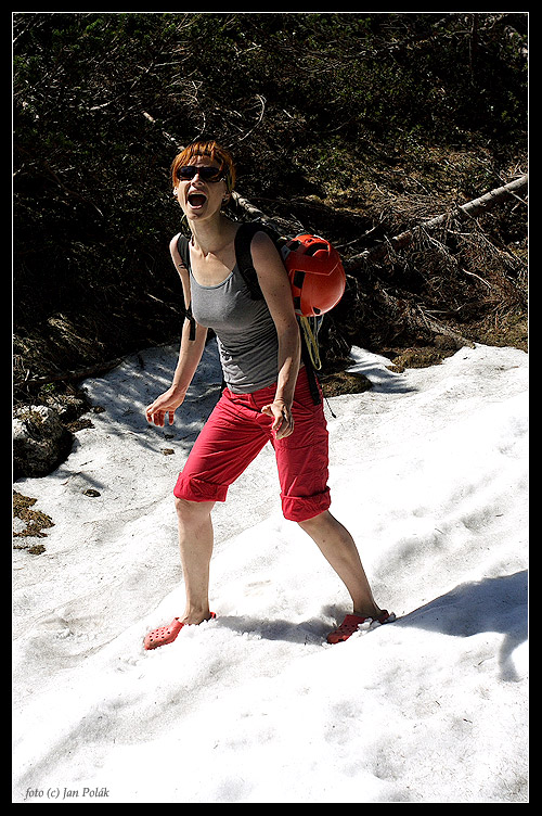 Schnee Outdoor Crocs Test