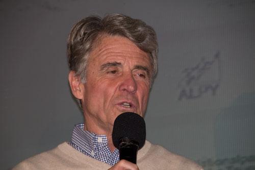 Horolezec roku - Peter Habeler předával ceny