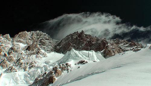 Fičák nad vrcholem Nanga Parbatu