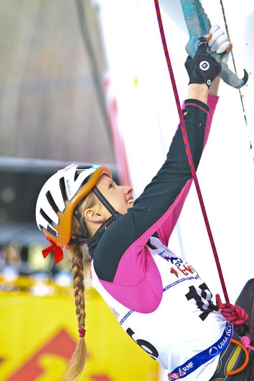 Kirov 2012 - Lucie Hrozová v semifinále