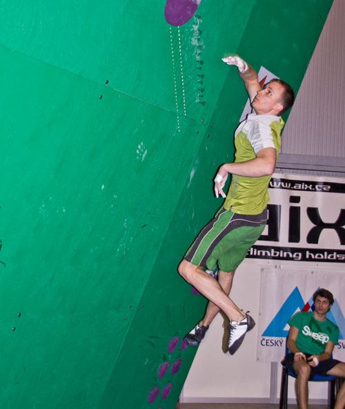 Vítěz a český rekordman Libor Hroza