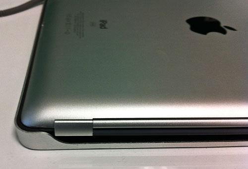 iPad vložený do pouzdra