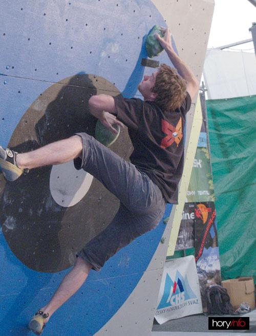 Boulder X, Petr Handlíř na jedničce
