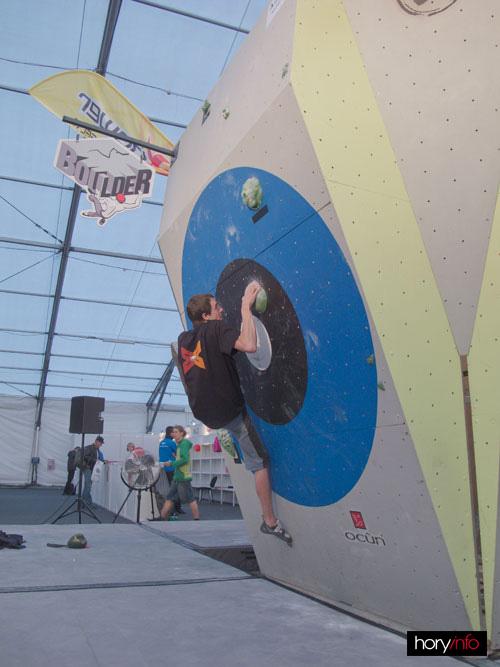 Boulder X, Kuba Hlaváček na jedničce
