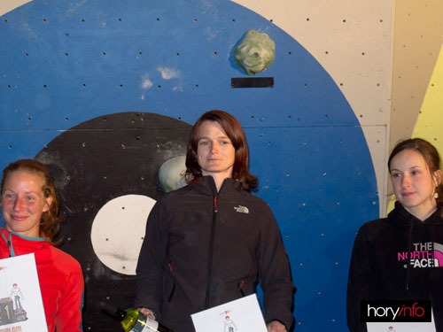 Boulder X, 3. Nelly Kudrová, 1. Věra Kostruhová, 2. Petra Ružičková