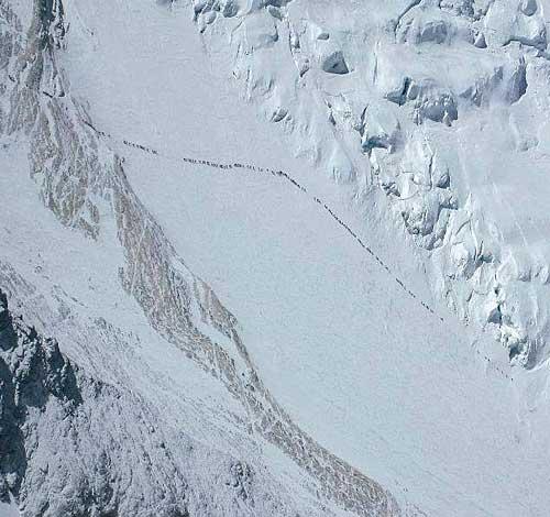 Procesí k Everestu