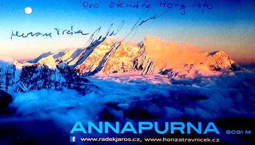 Annapúrna 2012, podrav čtenářům Horyinfo