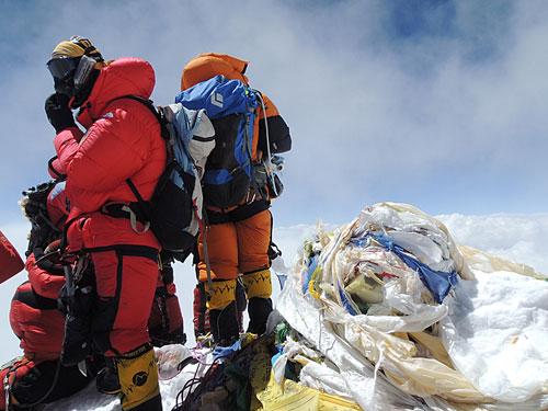 Vrchol Everestu