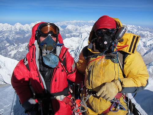 Na vrcholu s kyslíkem