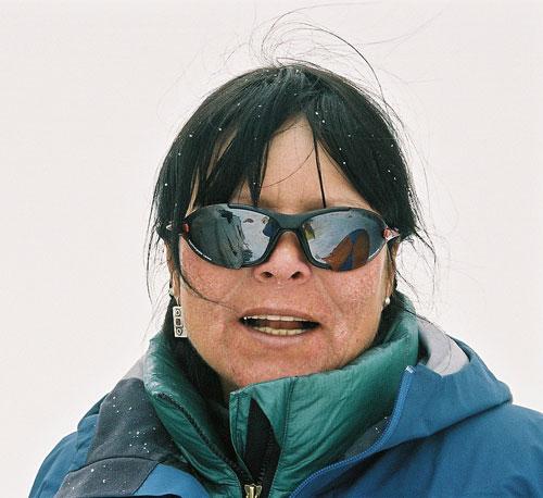 Zuzana Hofmannová pod Gasherbrumem