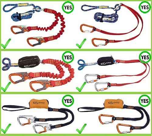Bezpečbné ferratové sety Climbing Technology