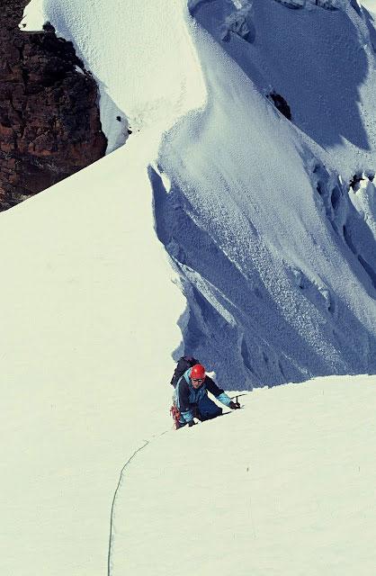 Výstup na Pequeño Alpamayo