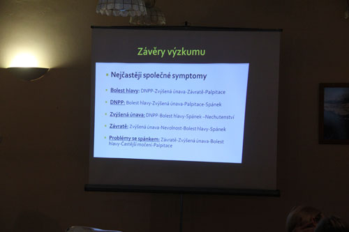 Výsledky dotazníkového výzkumu Vysokohorská nemoc – krátký výzkum