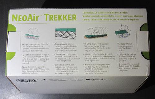 Neoair Trekker