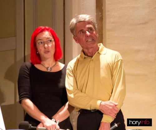 Peter Habeler se svou famózní překladatelkou