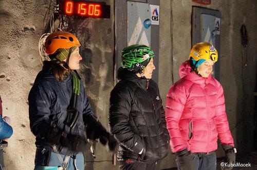 Martina, Barbara, Angelika, vítězky rychlosti