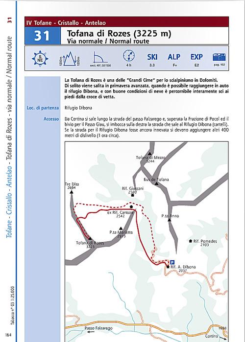 Mapka a popis túry
