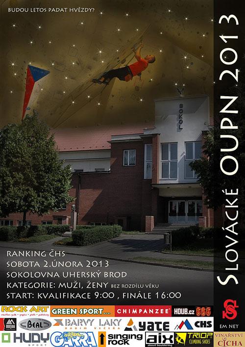 Plakát Slováckého OUPN