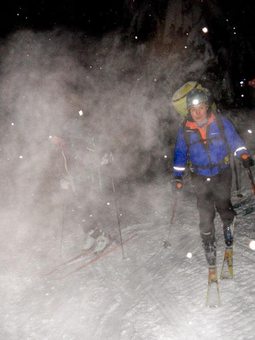 Noční skialpinismus