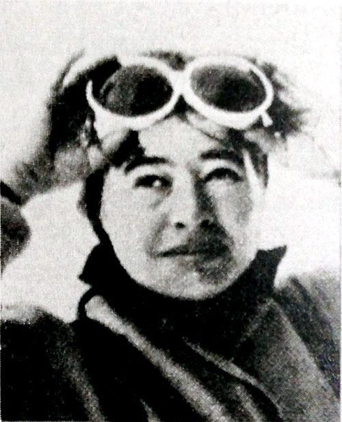 Sylva Kysilková v Encyklopedii horolezectva