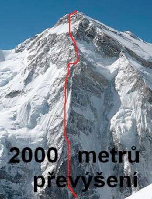 Talung, trasa plánovaného prvovýstupu