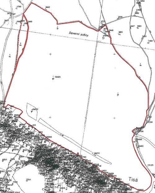 Mapka PP Tiské stěny