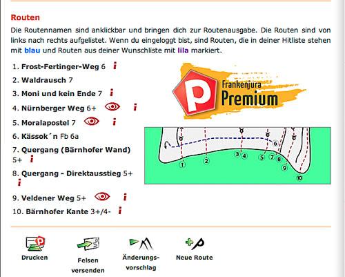 Frankenjura.com, část schématu je jen pro platící.