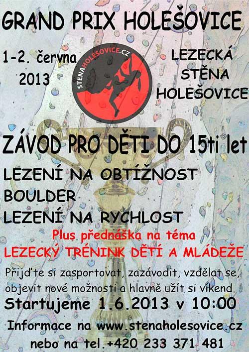Plakát Grand Prix Holešovice