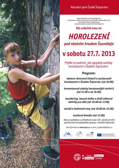 Pozvánka na 125 výročí horolezectví v Labáku