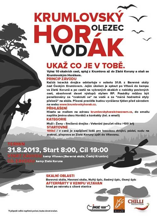 Plakát Krumlovský horák