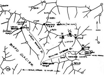mapka okolí Uzum Brakk
