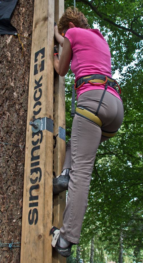 Výuková žáma - nosit spáry do ádrum není to jako dříví do lesa?