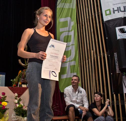 Edita Vopatová s čestným uznáním za China Crisis