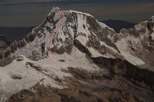Sjezd z hory Ranrapalca