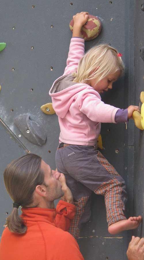 Dětské lezení